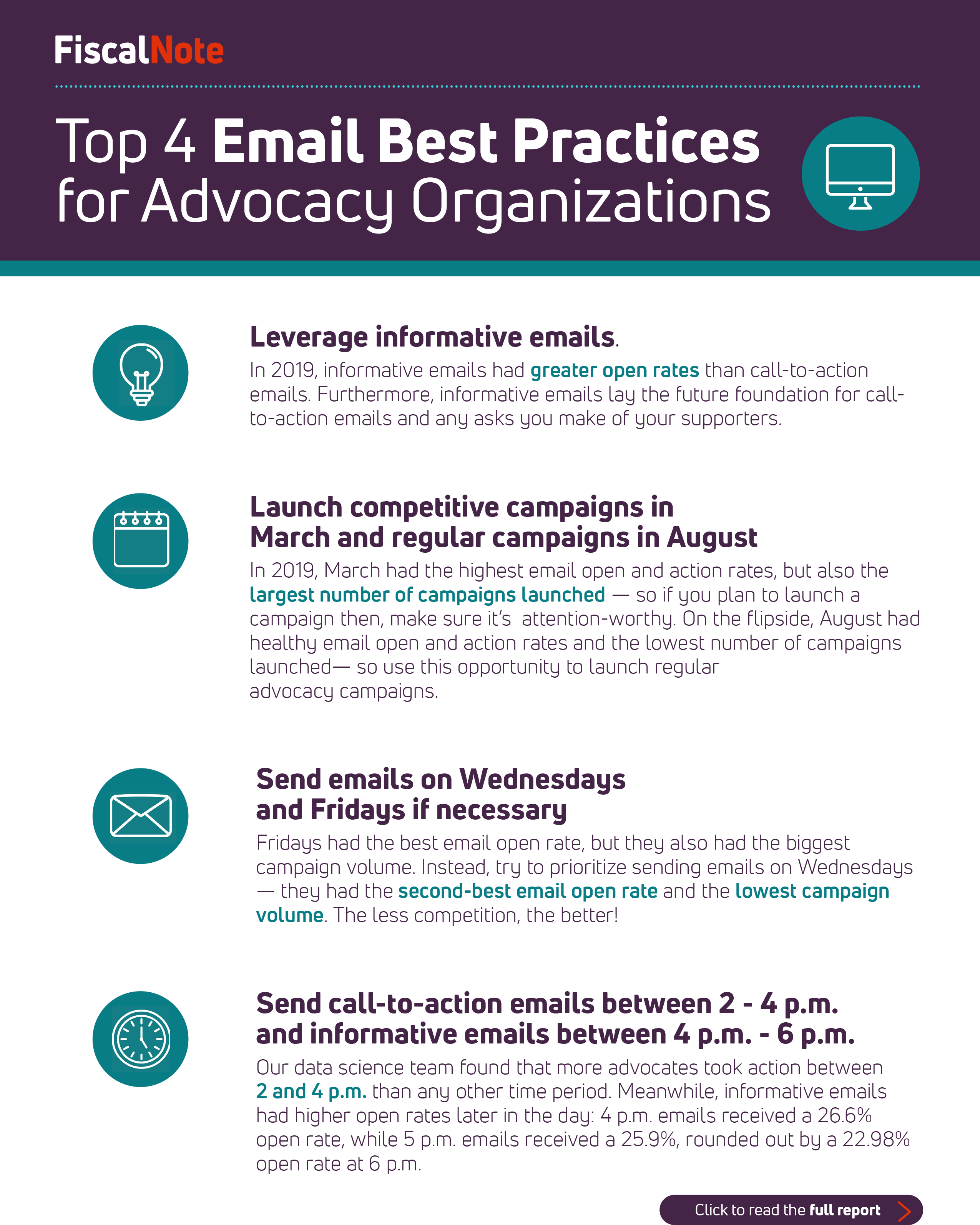FiscalNote Advocacy Email Best Practices