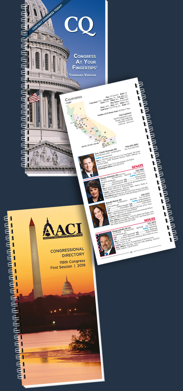 Congressional Directory from CQ News