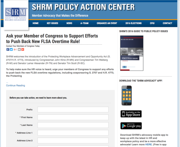How SHRM got their advocates to post 830 individual… | FiscalNote